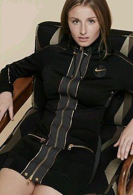 Balmain NikeLab Women  Activewear Jacket & Dress Limited Edition Size 10/12  UK   women's activewear shorts