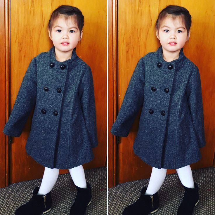 Winter fashion for little girls