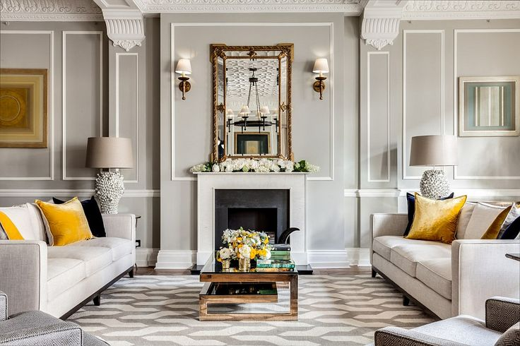 Transformation: The Grade II listed building on the Strand was a popular fine dining haunt of actors and celebrities as the Adelphi restaurant but now has been converted into four bespoke apartments
