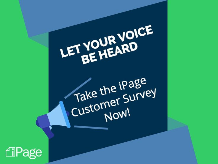 We want to hear from you. Take this quick survey to let us know about your iPage experience.