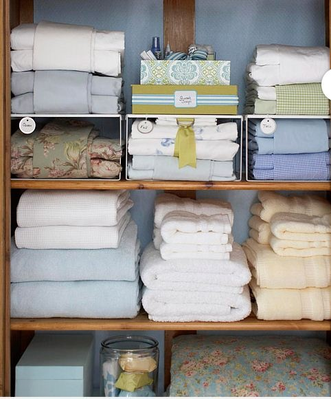 linen closet - must copy!