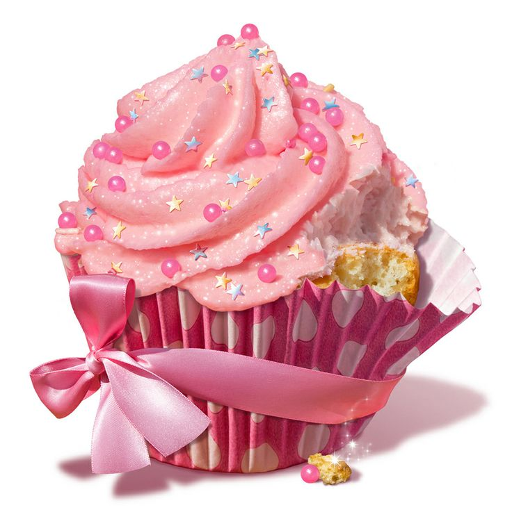 <3 A delicious pink cupcake for you. I know because I had a tiny taste to make sure it was perfect! <3