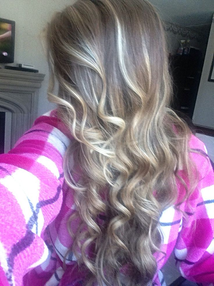 Highlights using revlon frost n glow