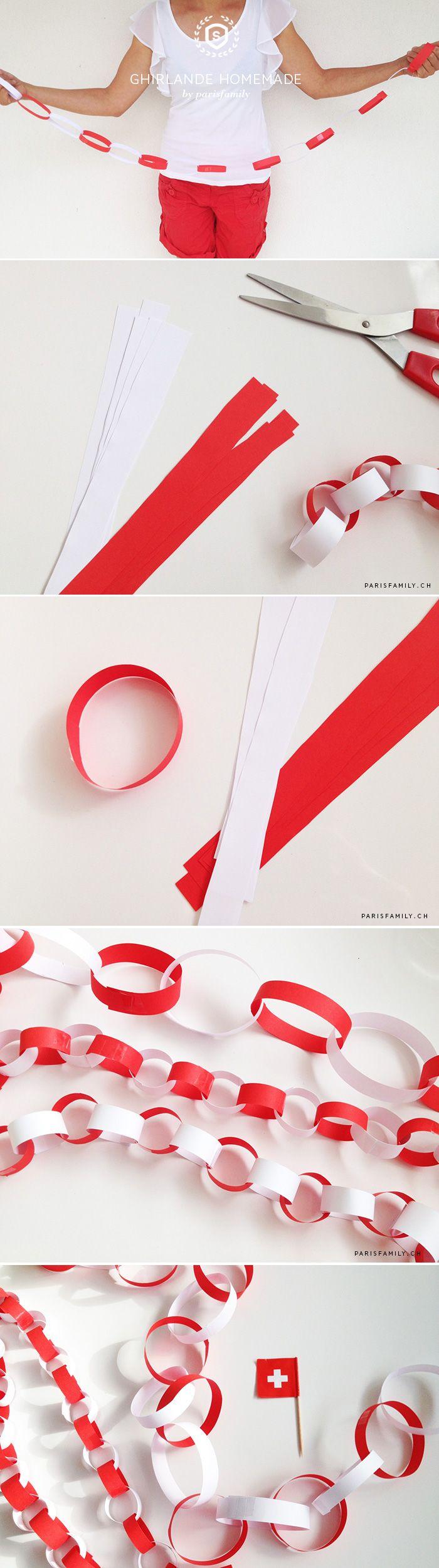 17 migliori idee su ghirlande di carta su pinterest for Ghirlande di carta