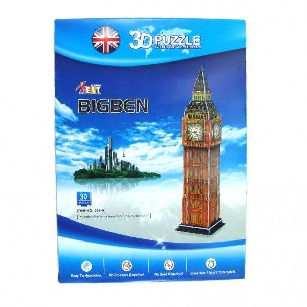 Londra Saat Kulesi Big Ben 3D Puzzle | tuhafbakkal