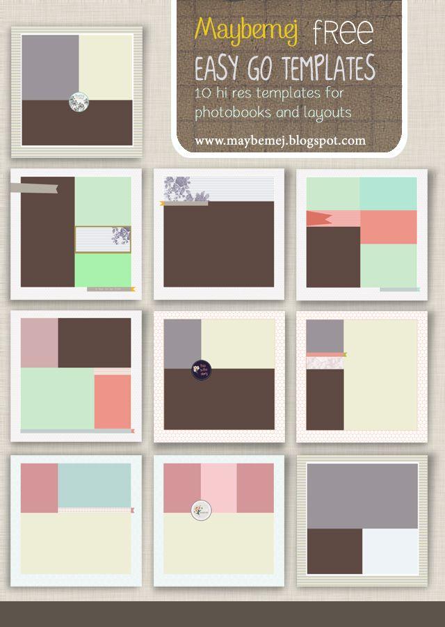 Více než 25 nejlepších nápadů na Pinterestu na téma Layout - free album templates