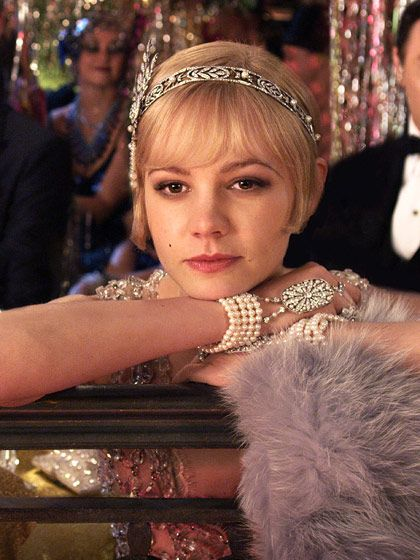 Carey Mulligan in The Great Gatsby. Aah! Must try this look for my 20s inspired 25th birthday bash
