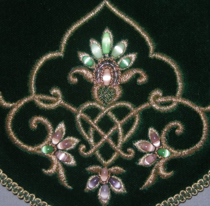 Russian embroidery