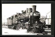 Foto 1964 Bahnhof Sopron Gysév Dampflok Lok-Nr. 327.001 Eisenbahn-Ungarn MAV