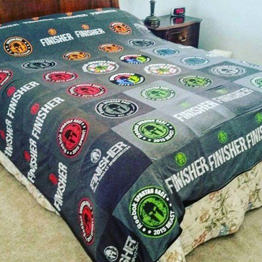 Image result for spartan race bedding