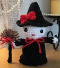 Amigurumi Kitty Witch