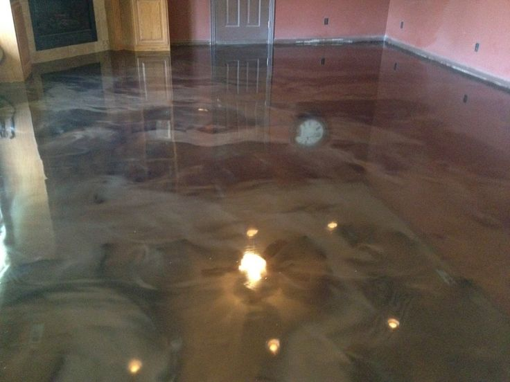 Interior epoxy over concrete floor img 1008 1024x768 img for What is best for basement flooring over concrete