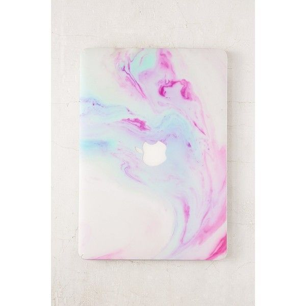 Unicorn Magic MacBook Cover (21 AUD) ❤ liked on Polyvore featuring accessories, tech accessories, macbook laptop case, urban outfitters and pink laptop cases