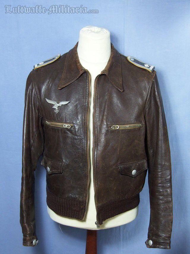 Luftwaffe leather jacket feldwebel