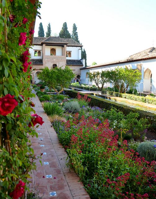 Generalife, Alhambra, Granada Spain. http://www.costatropicalevents.com/en/costa-tropical-events/andalusia/cities/granada.html