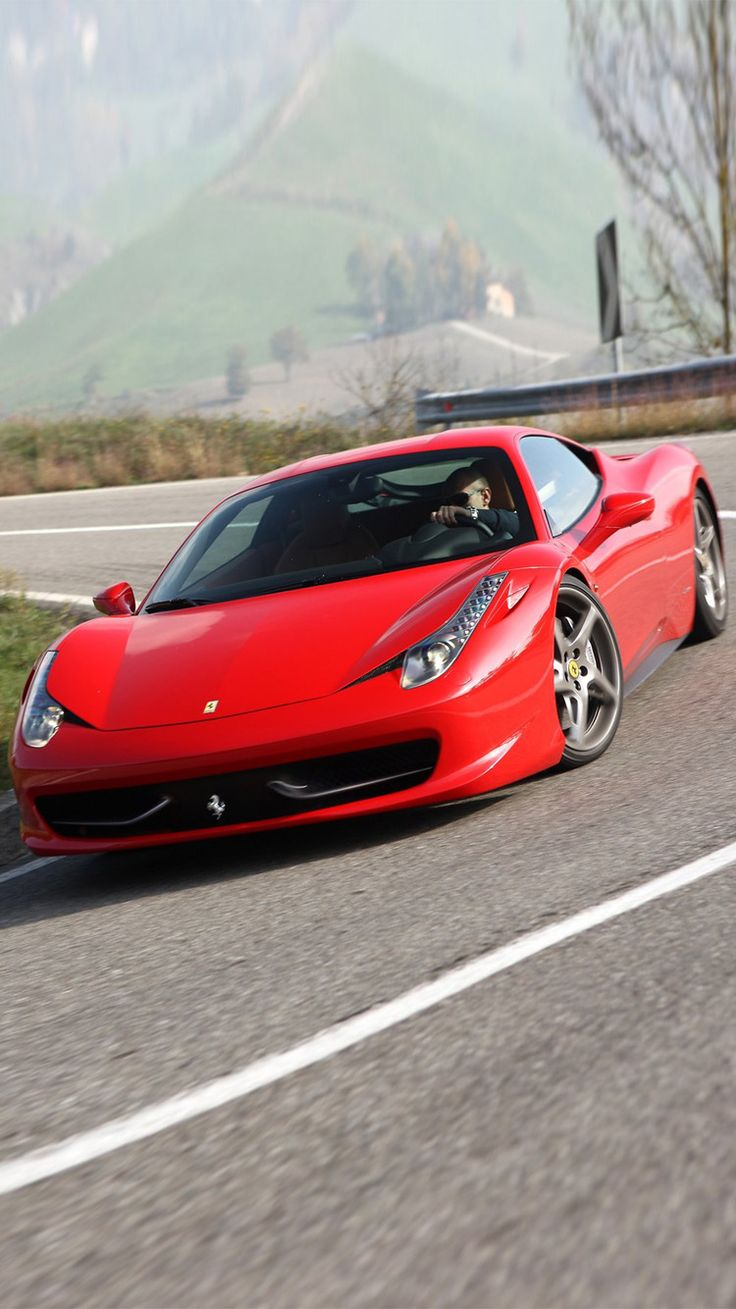 Ferrari 458 Italia iPhone 6/6 plus wallpaper Cars