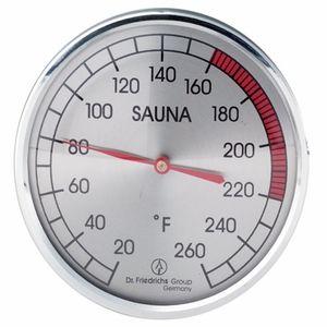 Sauna Thermometers & Hygrometers | Wood & Steel Sauna Thermometer