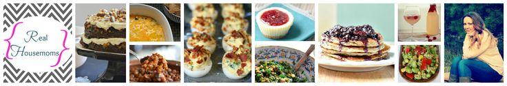 Crock Pot Cheesy Chicken, Bacon, & Tator Tot Bake | Real Housemoms