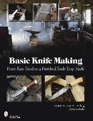 Basic Knife Making: From Raw Steel to Finished Stub Tang   In this book Ernst G. Siebeneicher-Hellwig and Jürgen Rosinski show the simplest and least expensive ways to construct a simple forge, make all necessary tools yourself, forge a stub tang blade from an old automobile coil spring, and make a complete knife.   Their practical guide demonstrates the most important theoretical basics and shows how simple it can be to experience blade smithing.