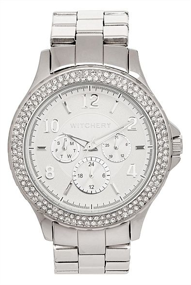 Florence Crystal Dial Watch #witcherychristmaswishlist