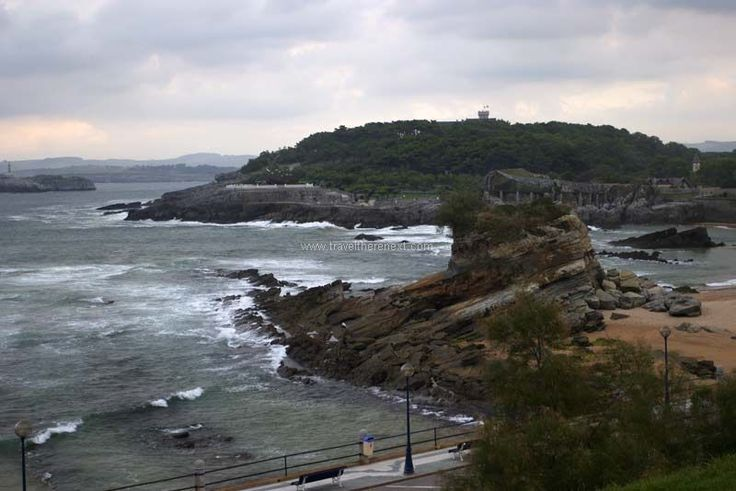 Cantabria - A view of the ocean of Santander #spain #travel #europe #cantabria #village #history