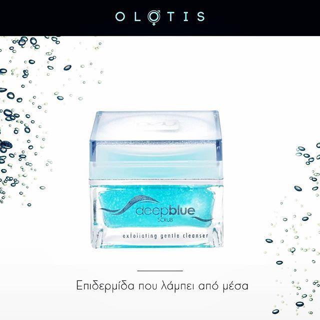 Απολέπιση και ενυδάτωση με θαλασσινό νερό. Ανακάλυψε το «Deep Blue Scrub» #olotis_experience#deuskinprogram#rosspharmaitalia#deepbluescrub#skincare#beauty#instabeauty#instacosmetics#peeling