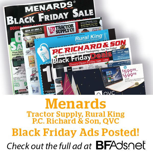 Earn Cash Back At Stores You Black Friday Ads Black Friday Menards Black Friday