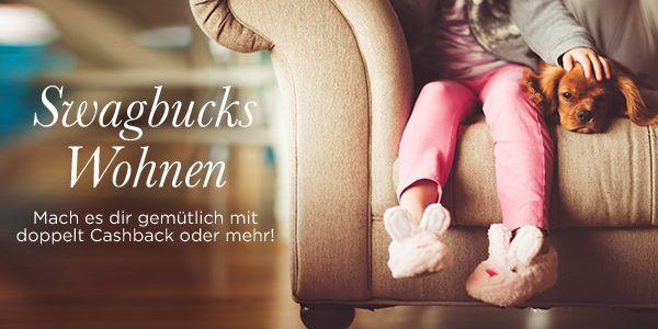 Über 50 Shops und 5% - 20% #Cashback - mach es dir gemütlich mit dem Swagbucks Wohnen & Wohlfühlen Sale!