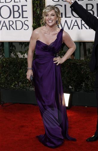 Jane Krakowski, Red Carpet Golden Globes 2010