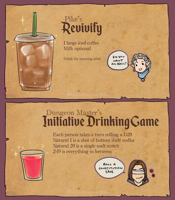 Critical Role Drinking Game