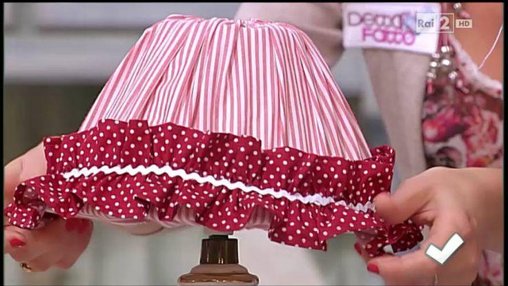 La nuova tutor Emanuela Tonioni cuce una lampada frou-frou - Detto fatto del 17/01/2014