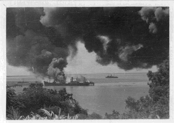 Darwin bombing February 1942 WWII