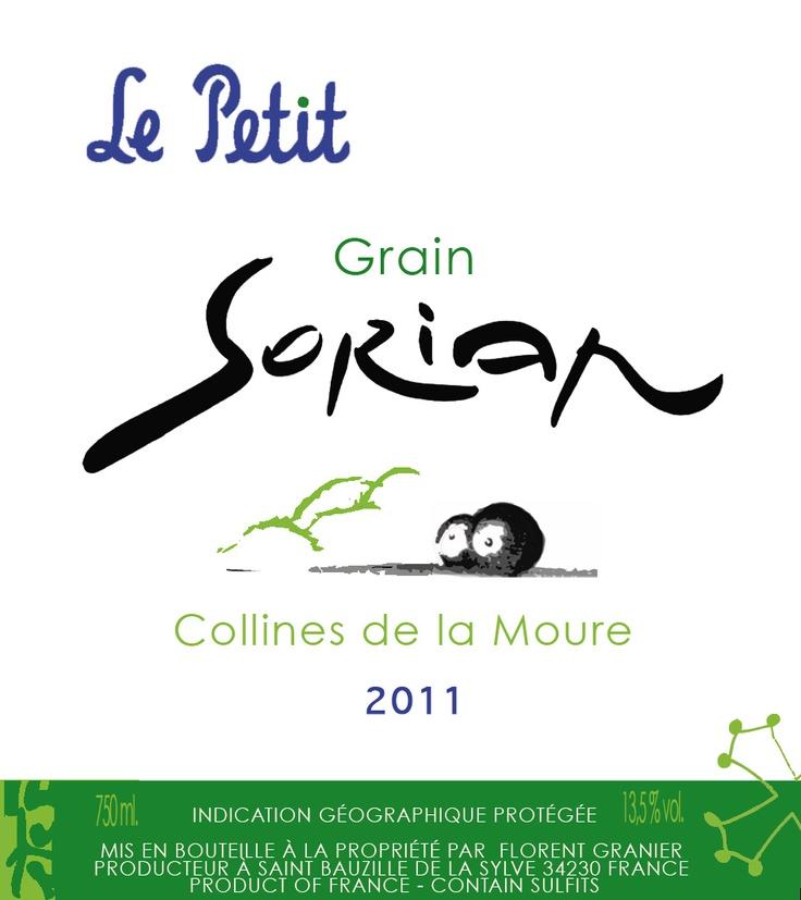 Dernière création : le petit grain de Sorian, un vin de pays ludique et agréable désormais en bouteille! http://www.glurgle.com/wineries/352.