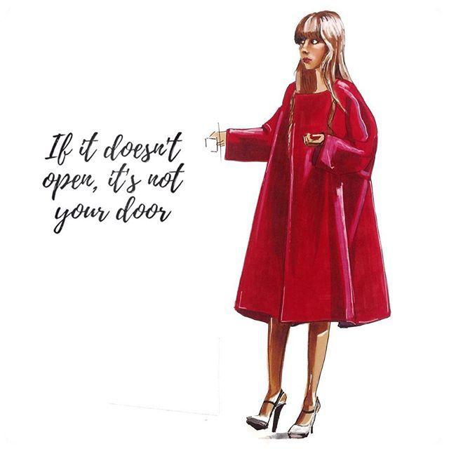#ifitdoesntopenitsnotyourdoor #redcoat #jilsander