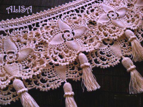 Схема вязания шикарного цветочного мотива и идея его применения Схема: