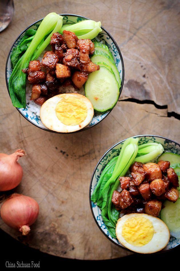 Lu Rou Fan-Braised Pork Rice
