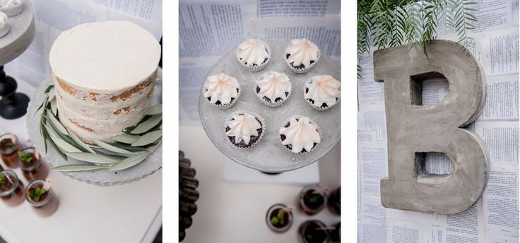 Sweet Magazine - Unique Ideas for a Boy's Baby Shower - Toasted Meringue Cupcakes