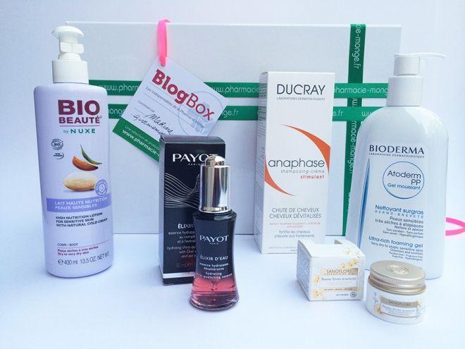 Une blogBox Pharmacie Monge à gagner » Givememoor Blog Beauté