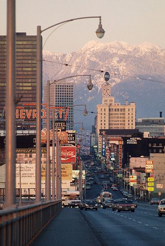 03082 Granville Street, Vancouver, 1973.
