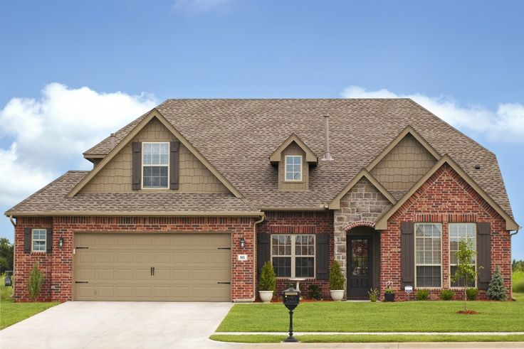 Ordinary Brick Home Exterior Ideas #6 - Exterior House Colors With Red Brick