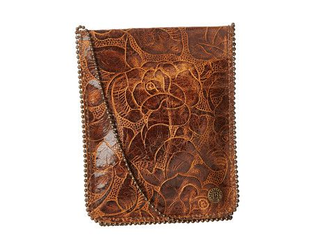 Leatherock Cell Pouch/Crossbody Kodiak Tobacco/Amber - Zappos.com Free Shipping BOTH Ways
