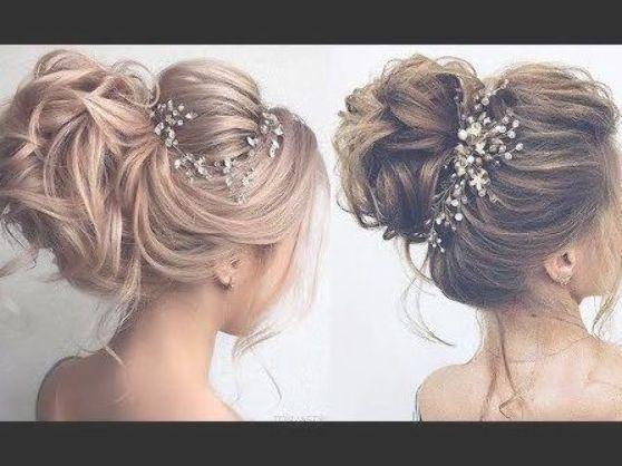 Romantic Wedding UPDOS for Long Hair