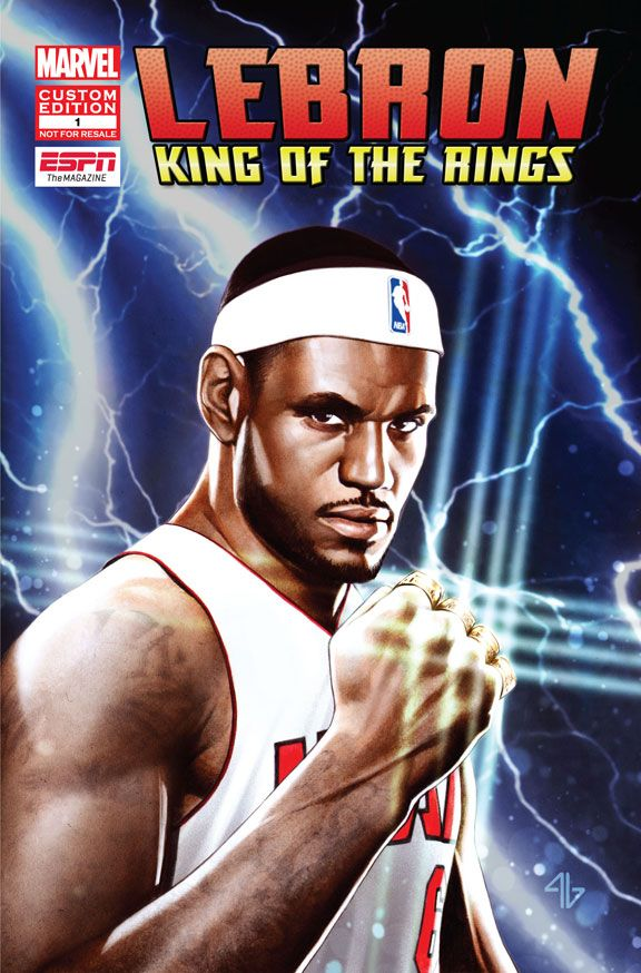 LeBron James stars in first-ever ESPN and Marvel comic book