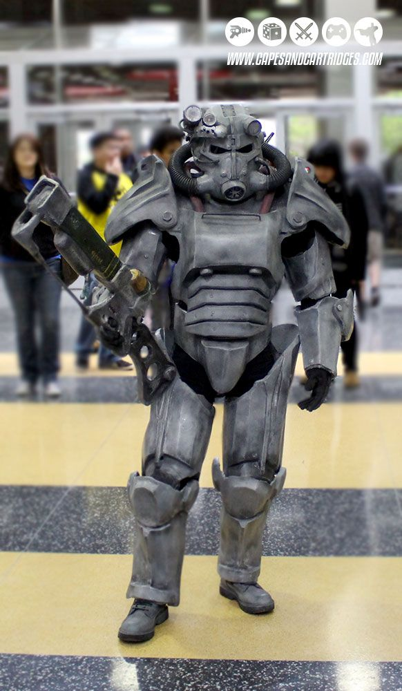 Brotherhood of Steel (FALLOUT) cosplay #acen2014 by capesandcartridges