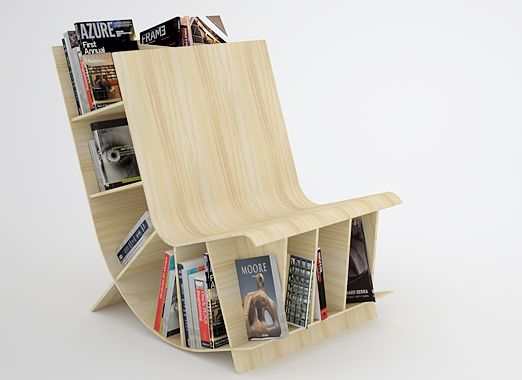 The most innovative book rack designs