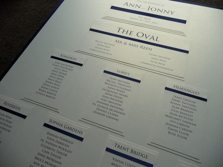 175 best our table plans images on pinterest bridal invitations ivory navy classy simple wedding seating plan junglespirit Choice Image