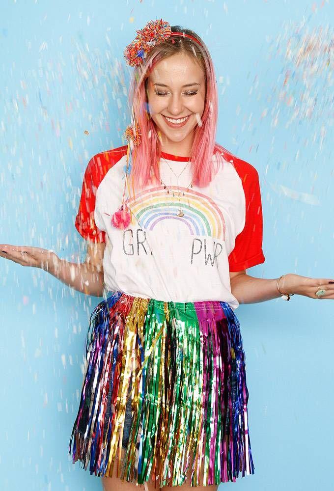 Fantasia de Arco-íris  | Inspiração de look para curtir o carnaval