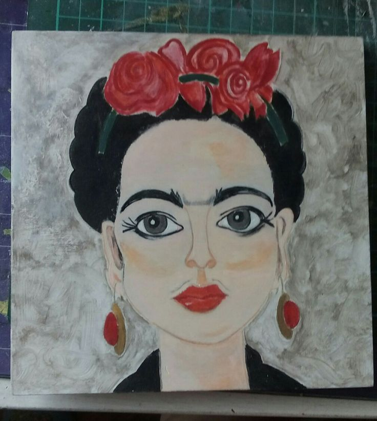 Only Frida Hand painting