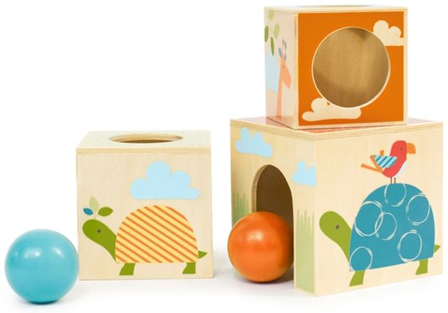 Kjøp Skip Hop Stableklosser Bygg & Lek Sjiraff Safari | Leker Babylek | Jollyroom