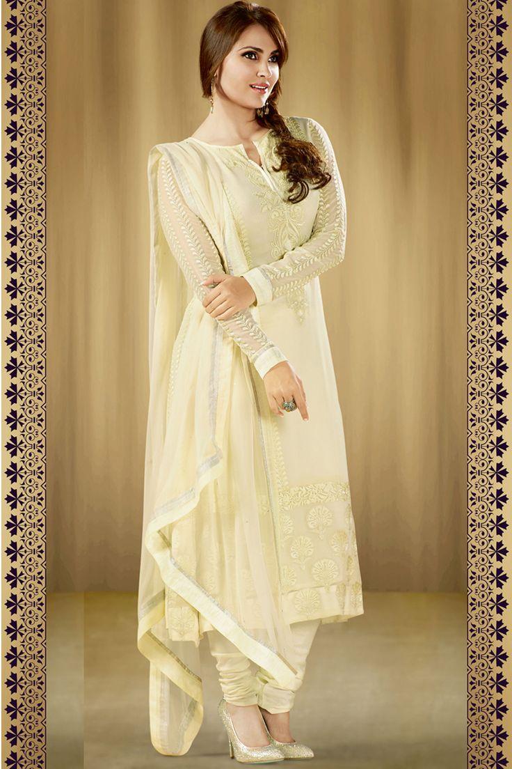 Bollywood Actress Lara Dutta Inspired Latest Party Wear Salwar Kameez ...